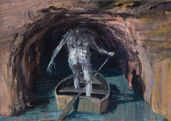 Boatman Entering Cavern
